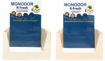 PRESENTOIR MONODOR MINI SPRAY PARFUMS DIVERS